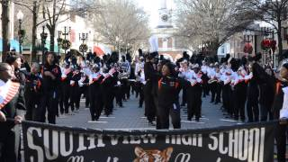 South View Marching Band in Fayetteville NC 2014
