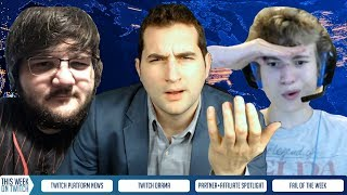 Pinkward Ban Yikers vs N-Word, NHL Streamer Gets Banned AND Partnered | TWITCH DRAMA + NEWS