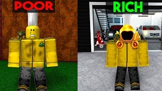 Poor To Rich | ROBLOX BLOXBURG STORY