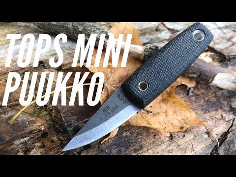 TOPS Mini Tanimboca Puukko: Smallest Fixed Blade I've Ever Reviewed