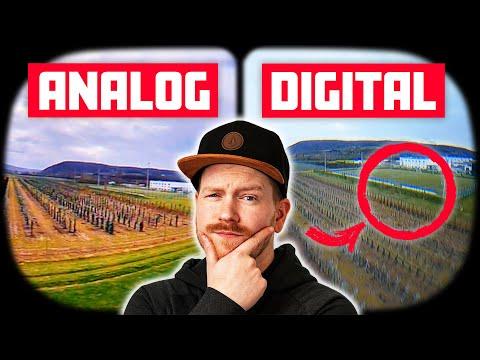 Die BESTE Analog FPV Kamera vs. Digital – Foxeer T-Rex 1500TVL im VERGLEICH