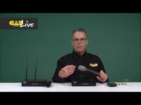 CAD Audio Live Series Wireless Systems