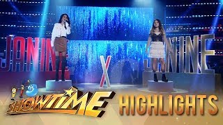 Janine Teñoso and Janine Berdin heat up the It's Showtime stage  | It's Showtime