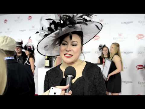 Jennifer Tilly on the 2013 Kentucky Derby Red Carpet