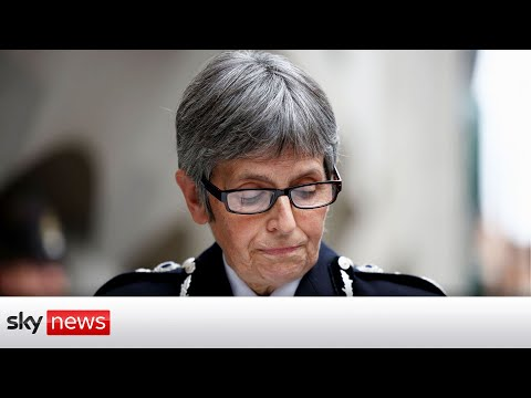 'I am so sorry' - Met Chief apologises to Sarah Everard's family