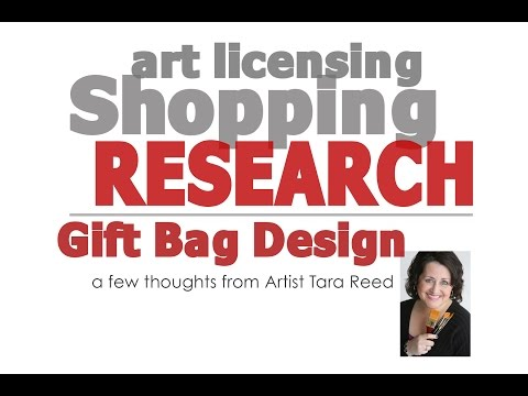 Art Licensing Shopping Research –  Gift Bags