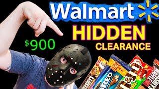 $900 HALLOWEEN CANDY HAUL! - Walmart Secret Hidden Clearance