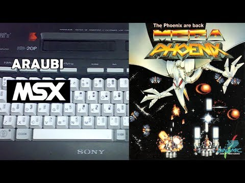 Megaphoenix (Dinamic, 1991) MSX [626] Walkthrough Comentado