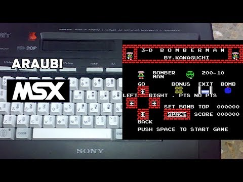 3-D Bomberman (Hudson Soft, 1984) MSX [628] Walkthrough