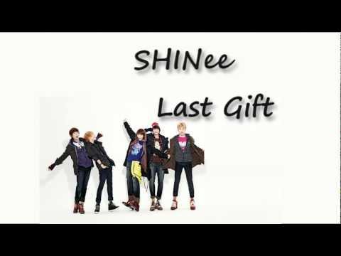 [繁中字幕] SHINee - Last Gift (中韓歌詞)