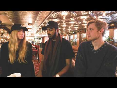 We had a chat with the swedish pop trio Södra Station