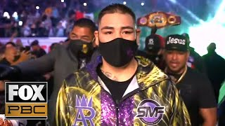 Andy Ruiz Jr. and Chris Arreola enter ring before heavyweight fight | PBC ON FOX