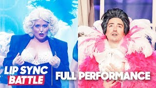 "Lauren Ash's ""Express Yourself"" vs. Ben Feldman's ""It's All Coming Back to Me Now"" 