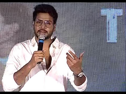 Sundeep Kishan Daring Speech