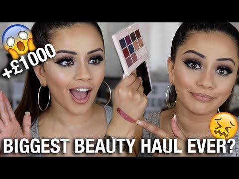 "BIGGEST CULT BEAUTY HAUL EVER""! ?"