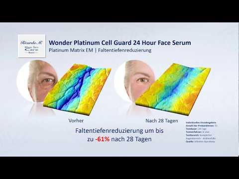 MSC Basic Wonder Platinum Cell Guard 24 Hour Face Serum - Falten verringern