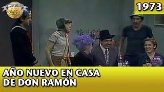El Chavo   Año Nuevo en casa de Don Ramón (Completo)