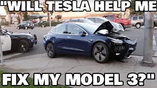 Fixing Tesla Model 3 With the NEW Tesla Parts Catalog!