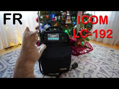 ICOM LC-192 - Évaluation du sac à dos pour le QRP IC-705