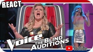 Kelly Clarkson Chora com Stephanie Skipper The Voice 2018 Blind Audition Tish Haynes Keys & Bransen