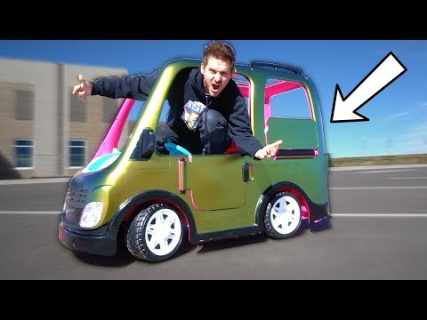 Custom Toy Car WRAP! (REVEAL)