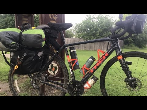 Solo Bicycle Touring: Caught in a thunderstorm - 300 miles in 2021 Trek Checkpoint SL5 photo