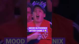 This Suns Fan Had The Best Game 2 Celebration #Shorts