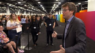 John Green's advice: Don't forget to be awesome