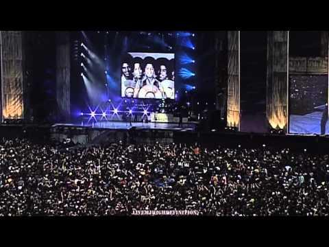 Michael Jackson - Speech + Jackson 5 Medley - Live Munich 1997 - Widescreen HD