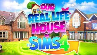 🏡OUR NEW REAL LIFE HOUSE...🏡 In The Sims 4!