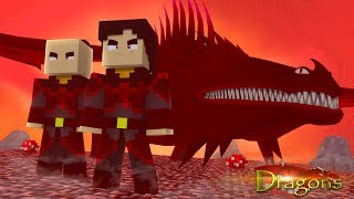 THE FIRE NATION ARE BACK! - Minecraft Dragons S2 #13