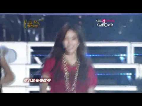 [LIVE 繁中字] 120119 T-ara - Roly Poly + Lovey Dovey @ 第21屆首爾歌謠大賞