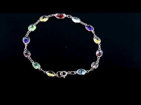 Browns Family Jewellers Multistone Bracelet