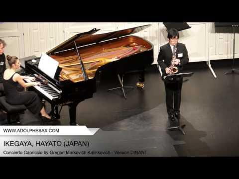 Dinant 2014 - Ikegaya, Hayato - Concerto Capriccio by Gregori Markovich Kalinkovich