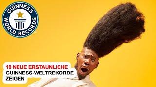 10 Neue Erstaunliche Guinness-Weltrekorde Zeigen
