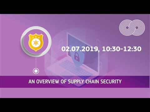 An overview of supply chain security photo