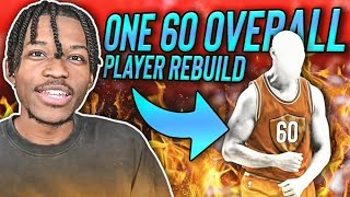 One Player Rebuilding Challenge but it's a 60 Overall Player...