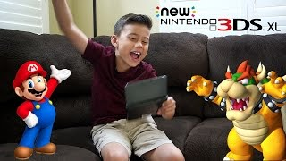 NEW NINTENDO 3DS XL!
