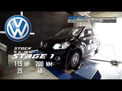 Volkswagen UP 1.0 TSi Stage 1 By BR-Performance