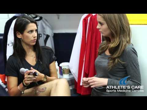 Shockwave Therapy Demonstration with Toronto Chiropractor