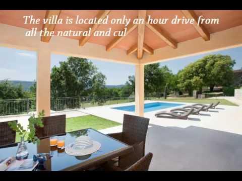 Istria Villa with Pool