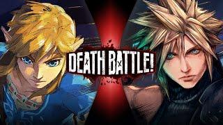 Link VS Cloud (Legend of Zelda VS Final Fantasy VII) | DEATH BATTLE!