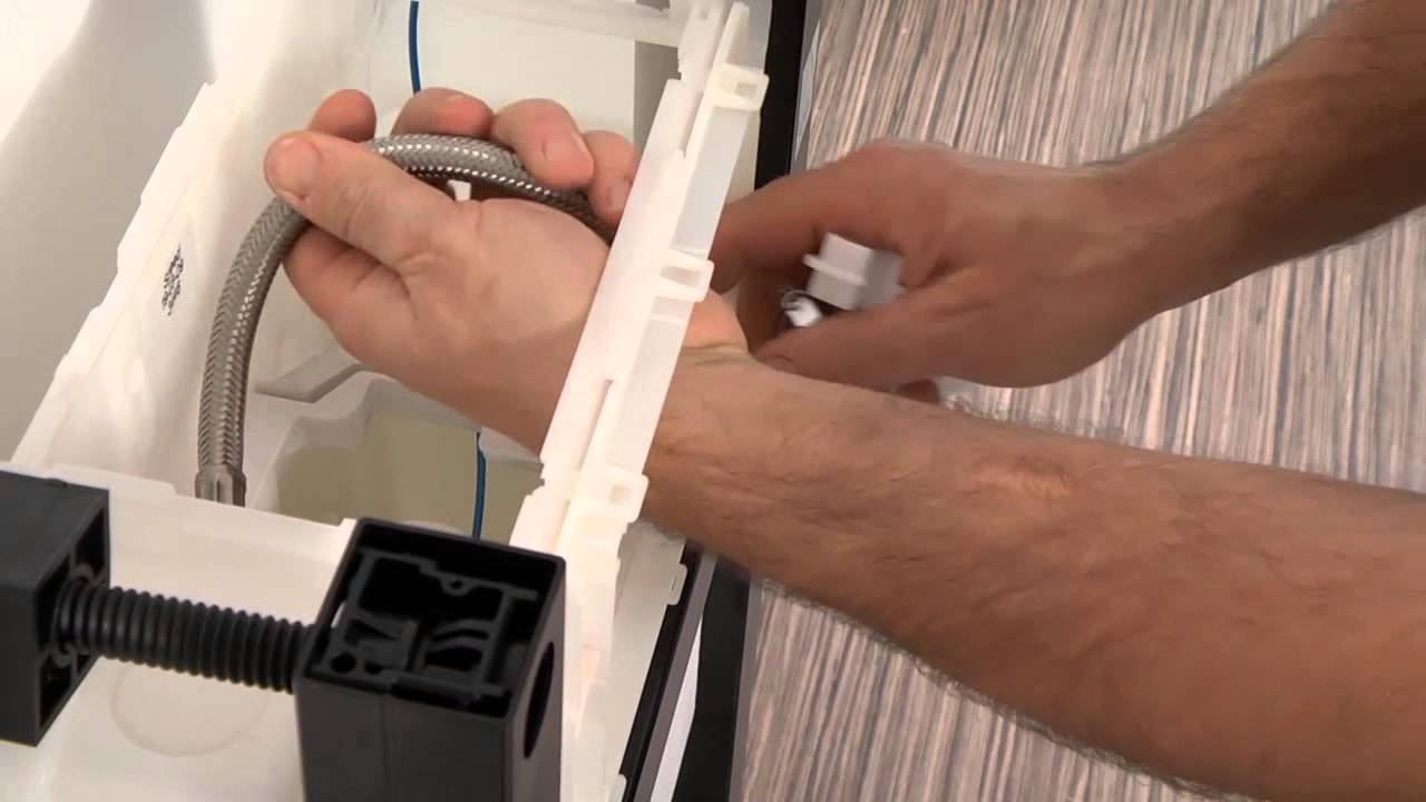 installer facilement un wc suspendu perline youtube. Black Bedroom Furniture Sets. Home Design Ideas