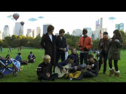 SMTown at Central Park singing Sorry, Sorry