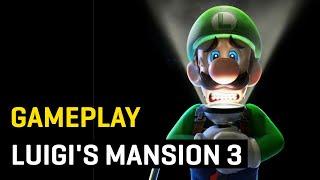 GAMEPLAY EXCLUSIVO de Luigi's Mansion 3