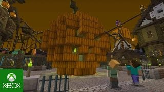 Minecraft doing the monster mash-up for Halloween