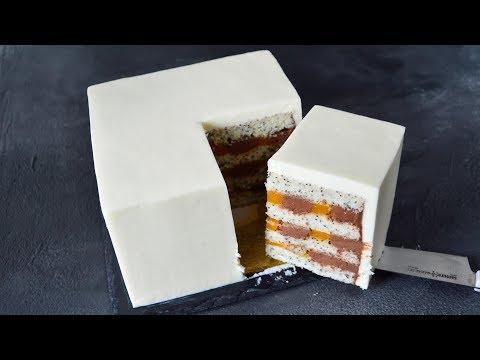 Выравнивание КВАДРАТНОГО Торта