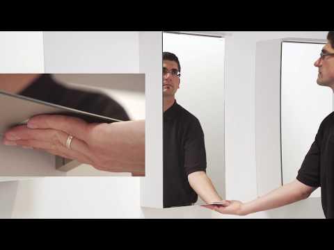 burgbad Bedienung Spiegelschrank LED Sensorschalter Lichttemperatur Steuerung