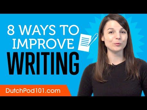 8 Ways to Practice Dutch Writing photo