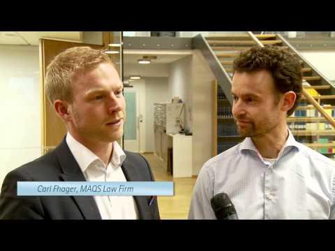 Milega och MAQS Law Firm hos nätverket Marknadscheferna - April 2013